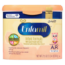 Enfamil Newborn Formula Feeding Chart Enfamil A R Infant Formula For Spit Up Makes 152 Ounces
