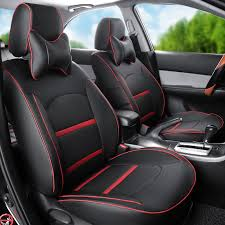 pu leather car seat covers for mggt mg gt front rear car seat cover set black cover seats protectors interior accessories