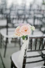 string of pearls aisle decor