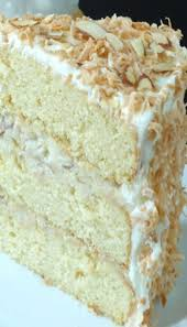 Coconut Almond Cream Cake Recipe Cake Decorating Ideas Cake
