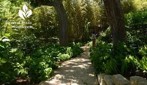 shade garden lake austin spa central texas gardener