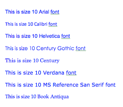 Resume Font Best What Size Font Should A Resume Be