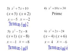 ppt solving quadratic equations