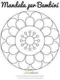 Risultati Immagini Per Mandala Da Colorare Facili Geometric Shapes