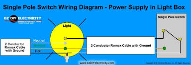 wiring diagram single pole switches wiring diagram light switch wiring diagram