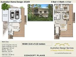 3 Bedrooms For Sale Set Plans