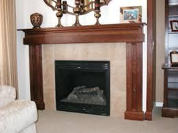 decorative fireplace decor gas logs cover