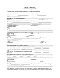 Room Rental Contract Tenancy Application Form Template Pennsylvania Rental