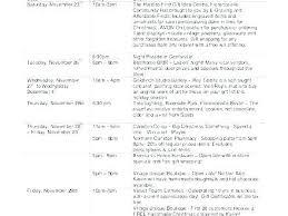Party Agenda Templates Company Holiday Schedule Template Holiday Party Agenda