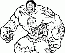Discover these zombies coloring pages. Zombie Hulk Colouring Pages 4824 Marvel Zombies Coloring Pages Coloring Home
