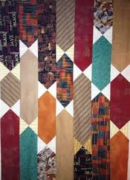 Men's tie quilt | Quilts | Pinterest | Quilt, Men ties and Chicago & All Tied Up bow-tie quilt pattern from Quilty magazine - the top comes  together Adamdwight.com