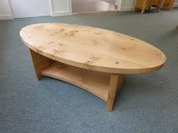 pippy oak oval coffee table