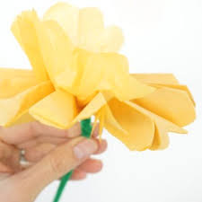 How To Make Flower Out Of Tissue Paper How To Make Tissue Paper Flowers Tinkerlab
