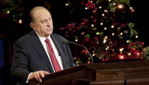 President Monson Says Christmas Should Be Filled with Spirit of ...