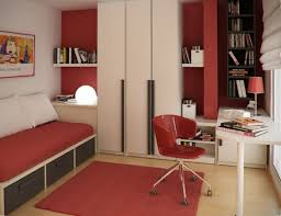 bedroom office chair. Image Of Aweinspiring Bedroom Built In Cabinet Designs With Modern Red Office Chair On N