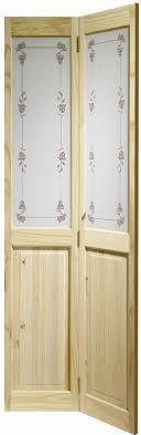 richmond bluebell knotty pine internal bifold door