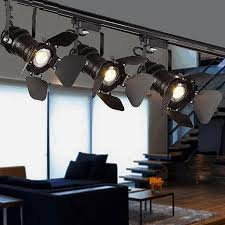 industrial track lighting industrial track lighting zoom. Industrial Track Lighting. Box Springs Lighting American Clothing Store Creative Coffee Tables Buffets Zoom R