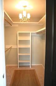 diy walk in closet u shaped walk in closet w chandelier multi level hanging storage diy diy walk in closet