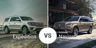 ford expedition vs lincoln navigator