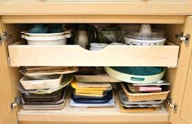 sliding drawers for kitchen cabinets out cabinet organizers to build shelves how make