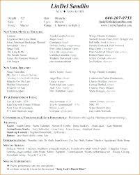 Music Resume Template Stunning Musician Resume Sample And Musical Resume Template Musician Resume