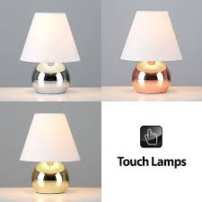 modern touch dimmer bedside lounge table lights lamps in