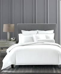 king duvet cover white hotel collection cotton ladder stitch pique king duvet cover white white king
