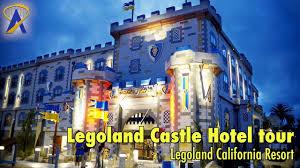 legoland castle hotel tour lobby restaurant pool at