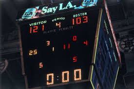 old boston garden scoreboard s future hangs in the balance