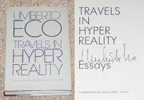 nonfiction book review travels in hyper reality essays by travels in hyper reality essays