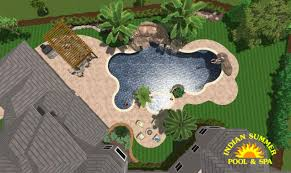 3d swimming pool design software. Design Service #001 By Indian Summer Pool And Spa 3d Swimming Software P