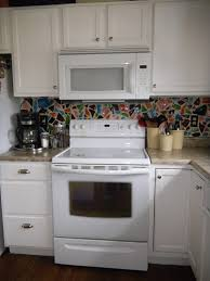 White Appliances In Kitchen Paint Colors For Kitchen Cabinets With White Appliances Monsterlune