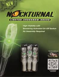 Flat Lighted Crossbow Nocks Lighted Nocks On Micro Excalibur Crossbow Forum