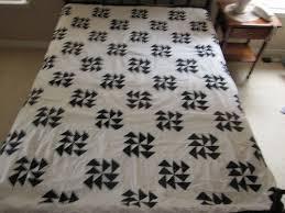 19 best Dutchman' Puzzle QUILTS images on Pinterest | Quilt ... & Antique Dutchman's Puzzle Hand Sewn Black and White Prints Quilt Top Signed  | eBay Adamdwight.com