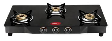 Gas From Stove Lovely Preethi Blu Flame Blaze Glass top 3 Burner Gas