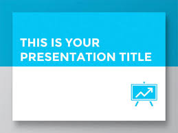 Red White And Blue Powerpoint Templates Free Clean Powerpoint Template Or Google Slides Theme For Corporate