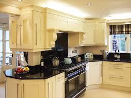 cream kitchen cabinet for classy and country house traba homes cream kitchen cabinets with black granite countertops