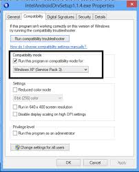 set windows xp service pack 3 as the version and ok