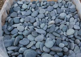 Ideas Black Landscaping Stone Mexican Pebbles Pinterest 14 For Front Yard  Plants Landscape River Rock Types