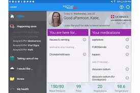 My Chart Epic Tablets Epic App Put Patients Closer To Their Care