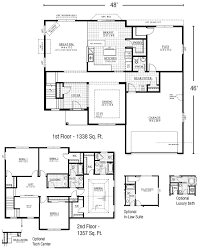 two story floor plans with master on main floor