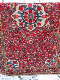 antiek perzisch handgeknoop t tapijt antique persian rug hand