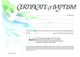 29 Images Of Create Baptism Certificate Template Leseriail Com