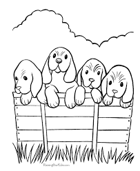 Small Picture Coloring pages of dogs and puppies 109