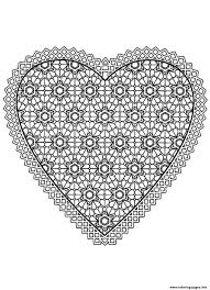 Small Picture Heart Coloring Pages Printable Miakenasnet