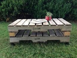 Tavoli Da Giardino In Pallet : Tavolini da giardino economici in pallet di legno bcasa