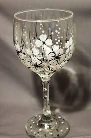 wine glass fl wine glass black and
