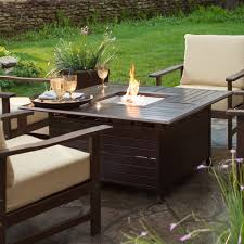 topic to castelle sienna cast aluminum 48 round coffee table with fire pit outdoor pfdsf42