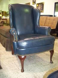 queen anne wingback recliner chair home image ideas high leg raise up chairs motorized lift recliners lane hampton seat natuzzi leather nailhead back fabric