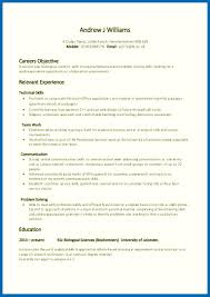 Simple Career Objective For Resume Resume Skills And Abilities Statements Great Resume Objective 21